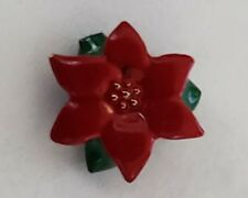 ORIGAMI OWL POINSETTIA FLOWER CHRISTMAS IN JULY WINTER CHARM