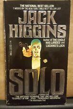 Solo by Jack Higgins (1981, Paperback)