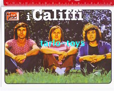 I CALIFFI - postcard - cartolina Ciao 2001 - italian prog rock
