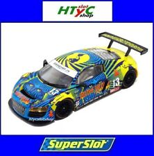 SCALEXTRIC UK AUDI R8 GT3 #13 BIELA / HAASE 24 H DAYTONA RUM BUM SUPERSLOT H3854
