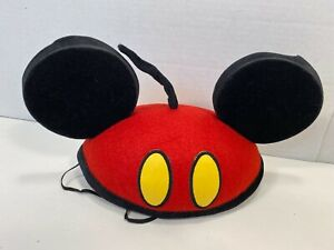 Disney Mickey Mouse Ears Red Pants Tail Design One Size Cap