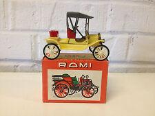 Vtg Rami by JMK Model / Toy Diecast Car 1907 Ford Modele Model T in Original Box