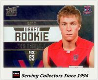 2011 Select AFL Infinity Draft Rookie Card DR28 Tom McDonald (Melbourne)