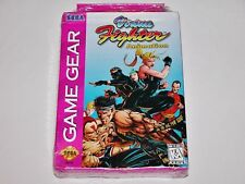 Virtua Fighter Animation for Sega Game Gear System **BRAND NEW FACTORY SEALED**