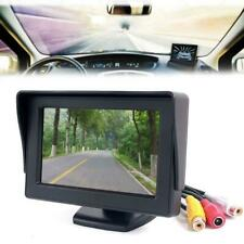 """Car 4.3"""" TFT LCD Color Rearview Monitor for DVD GPS Reverse Backup Camera Fad LG"""