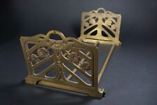 Awesome Antique Art Nouveau Expandable Book Ends