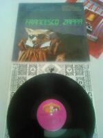 FRANK ZAPPA - FRANCESCO ZAPPA LP + INNER & INSERT N. MINT!!!! IN SHRINK ORIGINAL