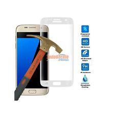 Protector cristal templado curvo transparente para Samsung Galaxy S6 Edge negro