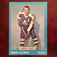 1973-74 Topps Set NORM ULLMAN #148 TORONTO MAPLE LEAFS - NM/MINT *HIGH GRADE*