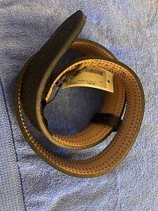 """Safariland Duty Belt 94P-38-4 Basketweave. Black. Leather. Heavy duty belt. 38"""""""