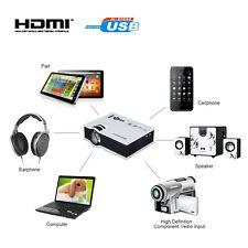 MINI PROIETTORE MULTIMEDIALE LED 1080P  LCD HDMI/USB/SD/HD/HDMI VIDEOPROIETTORE