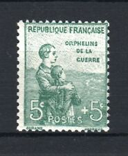 "FRANCE STAMP TIMBRE YVERT N° 149 "" ORPHELINS 5c + 5c VERT "" NEUF xx LUXE T261"