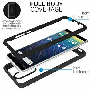 For LG Stylo 6 Shockproof TPU Clear Bumper & Tempered Glass