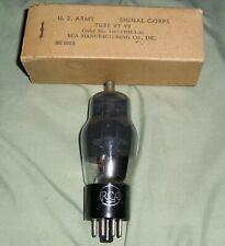 1  NOS US Army RCA  VT-99  6F8G Tube