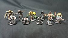 (#MK126) Mage Knight Mix lot of 11 Miniatures