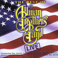 THE ALLMAN BROTHERS BAND The Best Of Live CD BRAND NEW