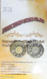 "Precision Scale HO #3930 Housing, 48"" Dia. Fan, Q Series Intake Fan (Brass Parts"