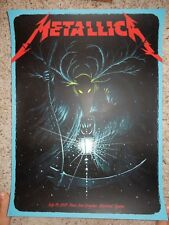 METALLICA Poster Montreal 7/19/2017 Signed & Numbered Jeff Soto