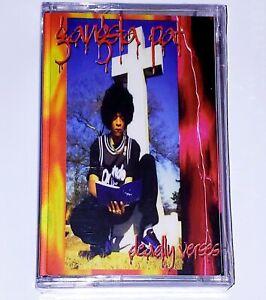 Gangsta Pat - Deadly Verses [Cassette Tape] Memphis TN Gangsta Rap Hip-Hop