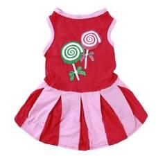Summer Dress for Dog Pet Clothes Puppy Spring Cotton Mini Skirt Pet Supplies Z
