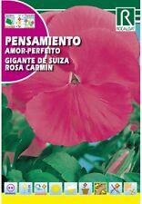 flores en sobre semilas PENSAMIENTO ,