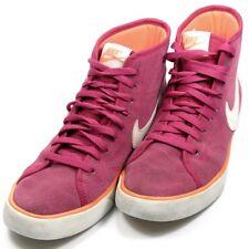 2fba06ad1 Nike Primo Suede Court Shoes Hi Top Running Trainers UK Size 4 EU 36.5  Fuchsia