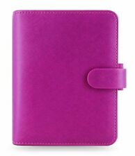 Filofax Saffiano Pocket Organiser, raspberry, 022452