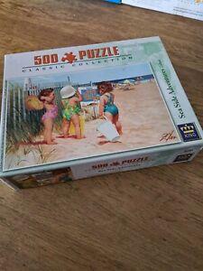 SEASIDE ADVENTURES - 500 PIECE JIGSAW PUZZLE RARE