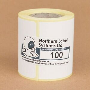 51mm x 76mm WHITE PAPER Direct Thermal Labels PUQU Q00 and Q20 Label Printers
