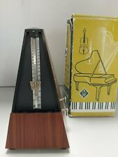 Vintage Style Traditional Metronome by Wittner Full Working Order Boxed D19