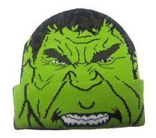 Berretta Incredible Hulk Avengers Age of Ultron Junior Beanie Winter Hat Marvel
