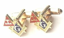 Crested Cufflinks (N249) Gift Boxed Masonic Crest and Royal Arch