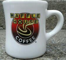 Vintage TUXTON Rounded WAFFLE HOUSE Coffee Cup Heavy Ceramic Mug