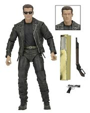 "Terminator 2 - 7"" Scale Action Figure - T-800 25th Anniversary 3D release - NECA"
