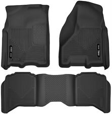 Husky Liners X-Act Contour Floor Mats for 2010-2018 Ram 2500 3500 Crew Cab Black