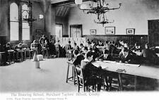 Drawing School Merchant Taylor's School Crosby Nr Liverpool unused old postcard