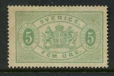 SWEDEN 1874 MINT OFFICIAL 5 ore