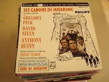 SOUNDTRACK 45T EP / DIMITRI TIOMKIN - LES CANONS DE NAVARONE