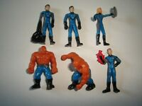 MARVEL FANTASTIC FOUR FIGURINES SET - FIGURES COLLECTIBLES MINIATURES