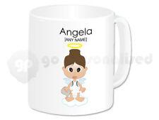 Personalised Ceramic Mug- Angel Girl Design