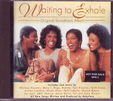 Waiting To Exhale Soundtrack CD Whitney Houston rare US promo