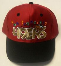 NWT NFL San Francisco 49ers Logo 7 Athletic Toddler Snapback Vintage Cap Hat NEW