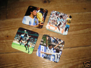 Maradona Argentina World Cup Winner Coaster Set