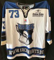 Original HEIDELBERG KNIGHTS Spieltrikot Nr. 73 KOTILNEK Gameworn Eishockey L wei