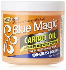 Blue Magic Carrot Oil Anti Breakage protein Leave In Styling Conditioner 13.75oz