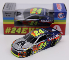 NEW NASCAR 2018 JEFF GORDON WILLIAM BYRON #24 AXALTA 24EVER 1/64 CAR
