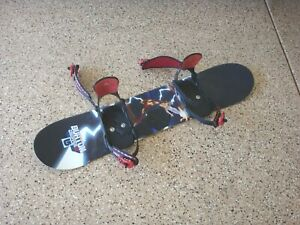 Burton Chopper 111 Snowboard - Airwalk bindings Kids Youth Board Size S 111 CM