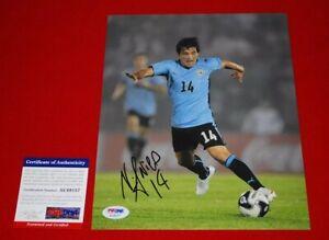 NICOLAS LODEIRO seattle sounders FC uruguay world cup signed PSA/DNA 8X10 2