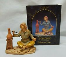 """Fontanini Depose 5"""" Figurine Andrew The Potter For The Village Nativity With Box"""