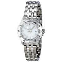 Raymond Weil Tango White Dial Stainless Steel Ladies Watch 5399-ST-00308